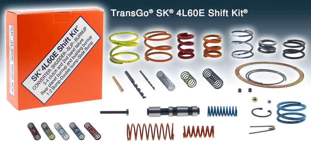 AUTOMATIC TRANSMISSION - TRANSGO SHIFT KITS - Page 1
