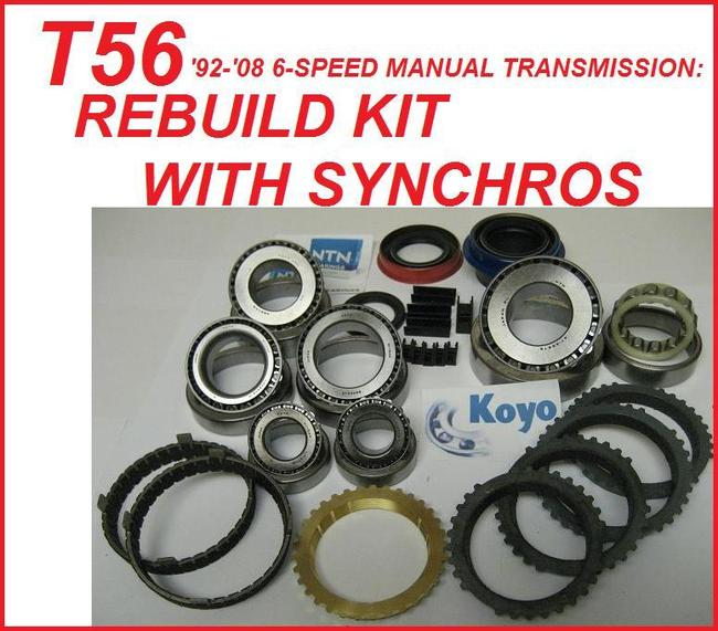 MANUAL / STANDARD TRANSMISSION - T56 6-SPEED - Transmission Parts