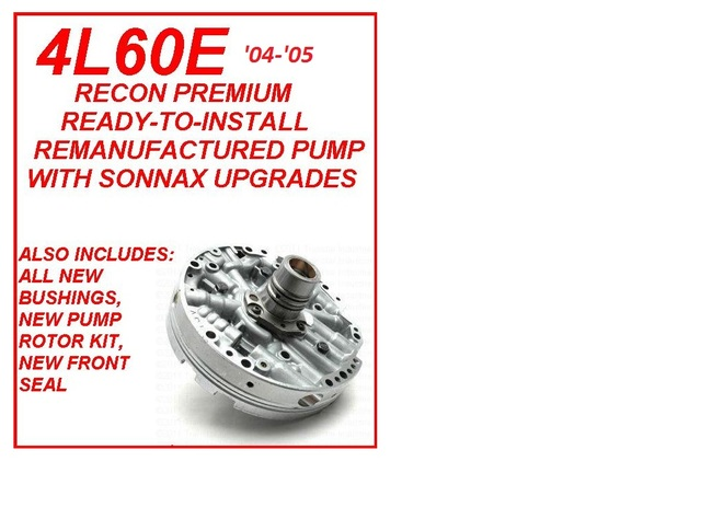 AUTOMATIC TRANSMISSION - SONNAX PARTS - Page 1