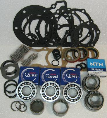 NP205 TRANSFER CASE REBUILD KIT FITS '69-'91 GMC & CHEVY WITH 32-SPLINE  INPUT FOR TH400 (BK205GDM4)