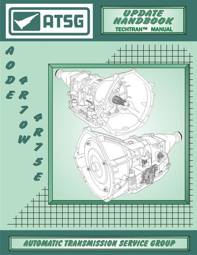 Aode 4r70e 4r70w 4r75e 4r75w Transmission Tech Manual Update Mini Cd By Atsg Covers  U0026 39 92