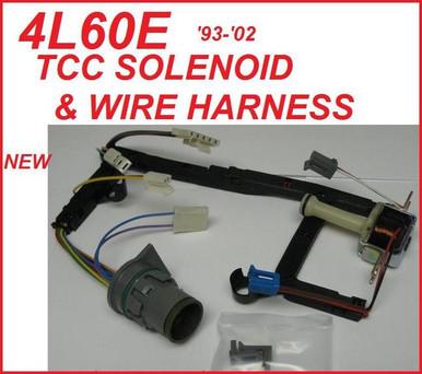 4l60e 4l65e Transmission Tcc Solenoid Amp Wire Harness Kit