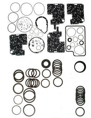 4R100 TRANSMISSION REBUILD KIT WITH PISTONS & BORG-WARNER