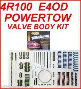 4R100 E4OD SUPERIOR PowerTow PT4R100 VALVE BODY KIT: HEAVY DUTY &  PERFORMANCE, GAS OR DIESEL '89+