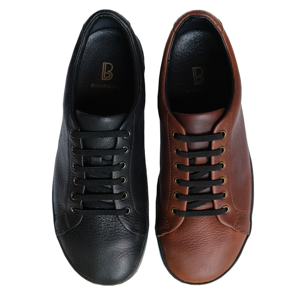 Wide \u0026 Soft Minimalist Leather Sneaker