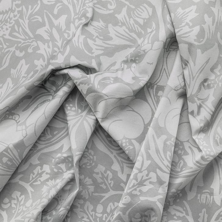 Young and Battaglia Morris Dream Fabric- Pebble grey