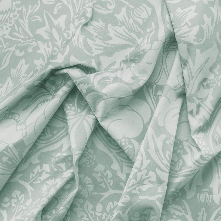 Young and Battaglia Morris Dream Fabric- Minty egg blue