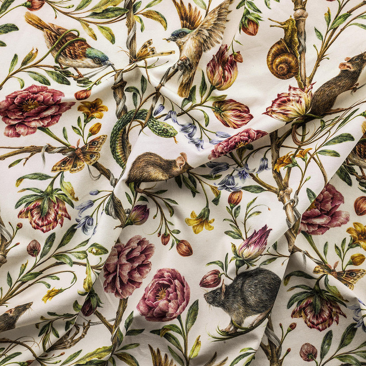 Courtney Brims Back to Nature Coloured fabric