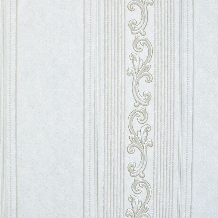 Mineheart Audley Decorative Stripe wallpaper - Cream