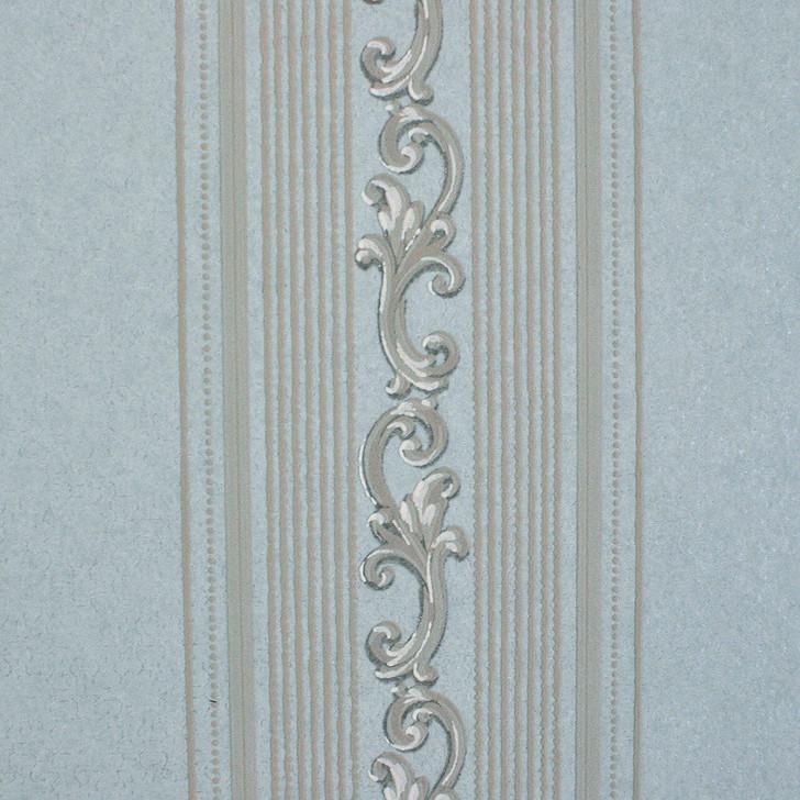 Mineheart Audley Decorative Stripe wallpaper - Mint Green