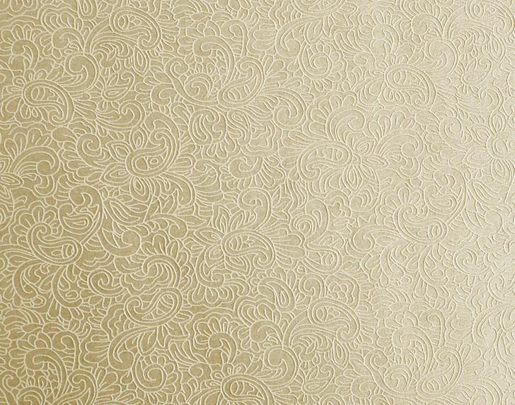 Mineheart Classico Paisley texture wallpaper - Magnolia