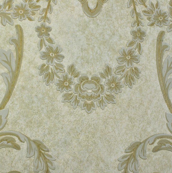 Mineheart Wimpole Floral embossed wallpaper - Beige