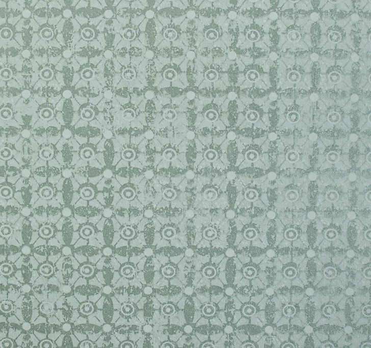 Mineheart Classico Tile Pattern wallpaper - Silver Green