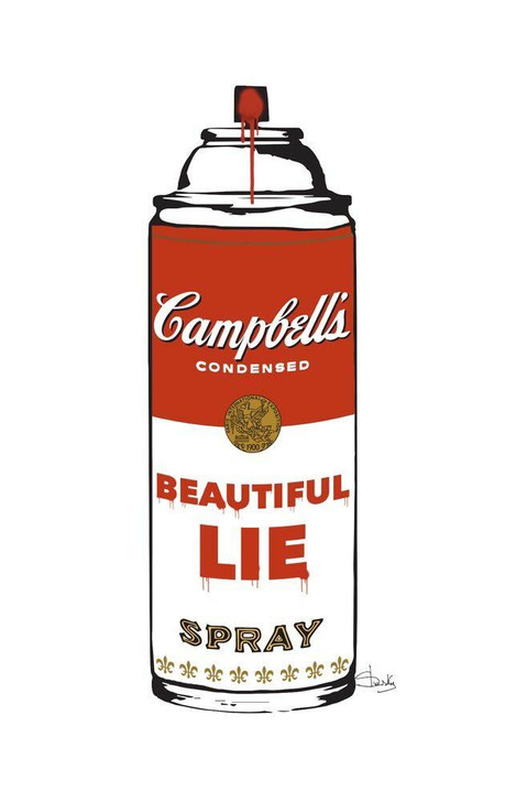 Beautiful lie Limited Edition Print