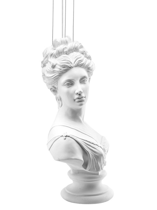 Young and Battaglia Muse Statue Lamp - XL