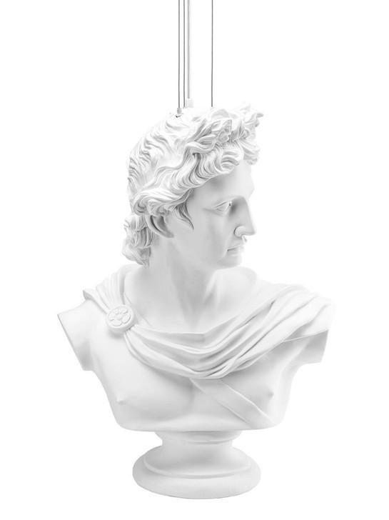 Young and Battaglia Hero Statue Lamp -XL