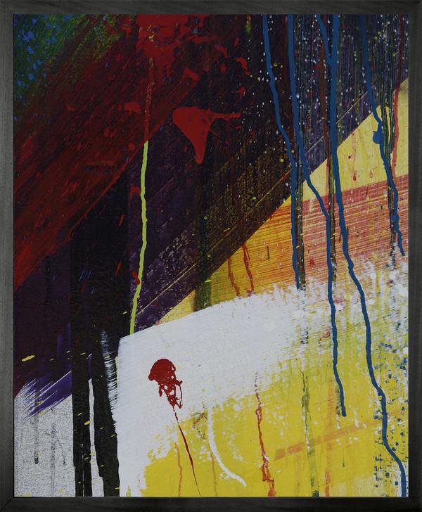 Michael Banks GRAFFITI 3 Framed Printed canvas