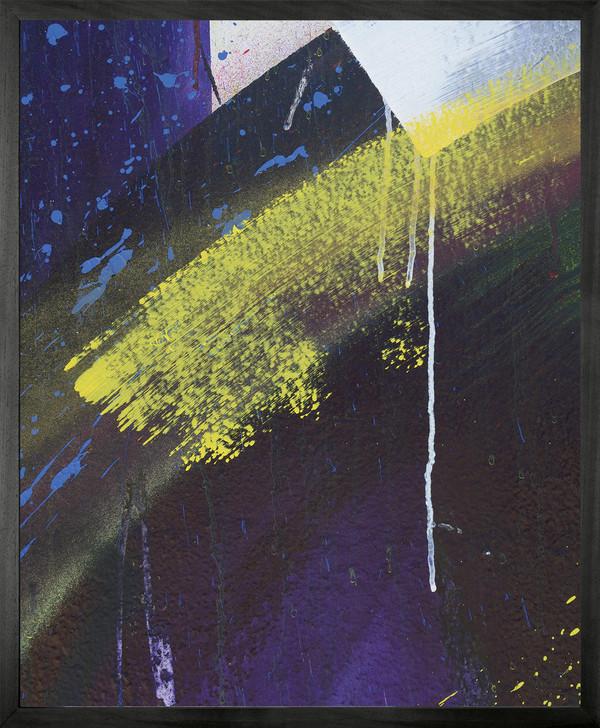 Michael Banks GRAFFITI 2 Framed Printed canvas