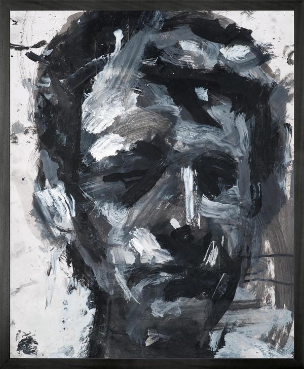 Harry Simmonds Self Portrait no 10 Framed Printed canvas