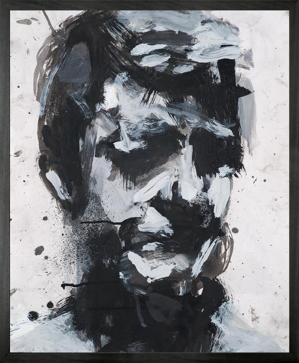 Harry Simmonds Self Portrait no 9 Framed Printed canvas