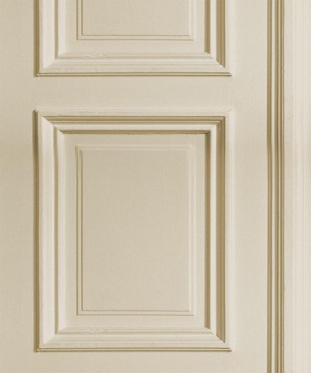 Young and Battaglia Cream Panelling Wallpaper