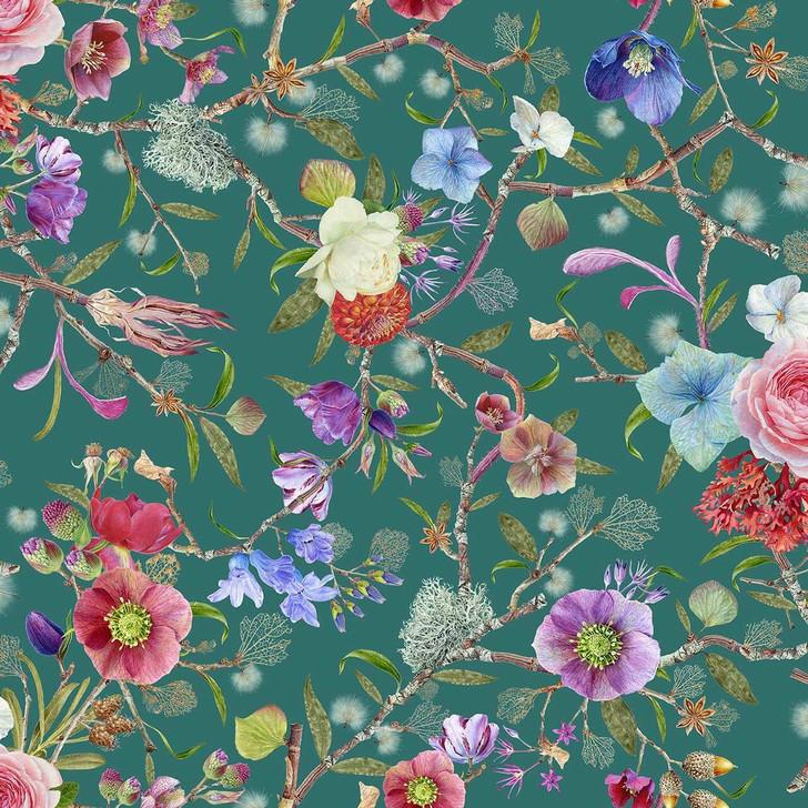 Carolyn Jenkins Kilburn Heritage amazon green wallpaper