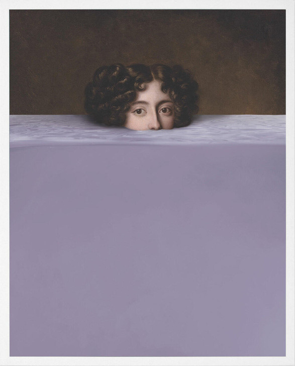 Young and Battaglia Submerged 8 Lavender Lady Wall art