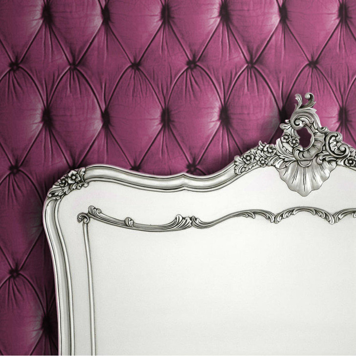 Young and Battaglia Pink Chesterfield Button Back Wallpaper