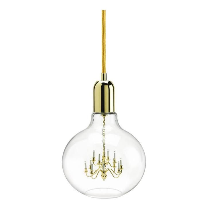 Young and Battaglia Gold King Edison Pendant Lamp