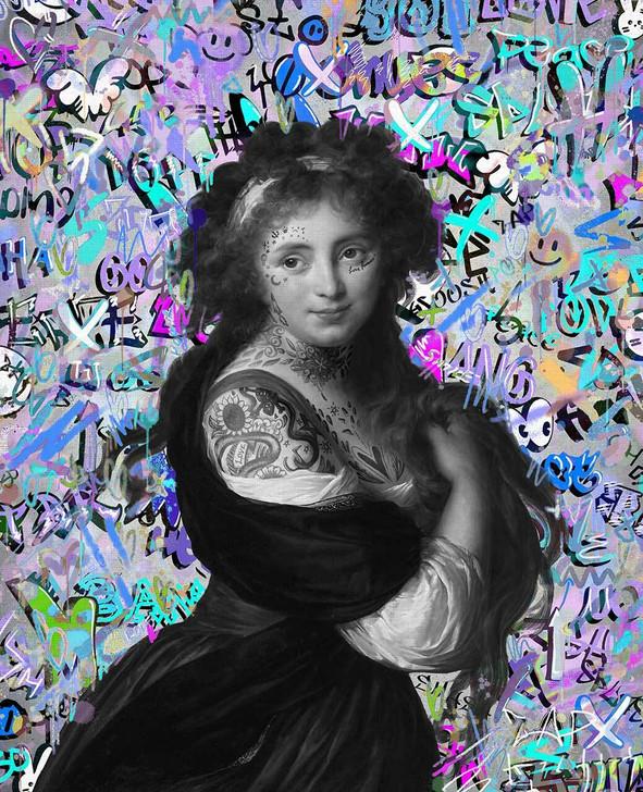 Kirin Young Pop Graffiti Lucia