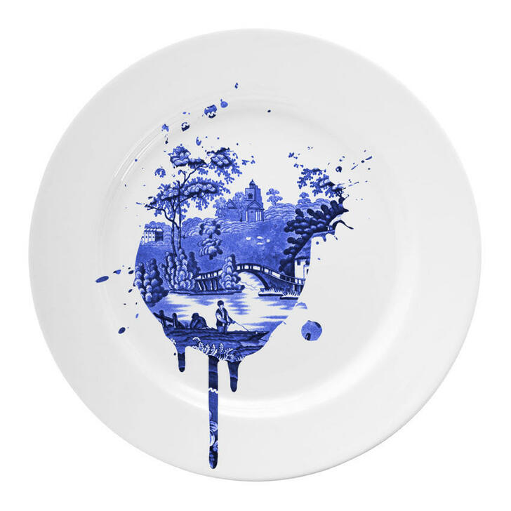 Young and Battaglia Undercover Antique Plates