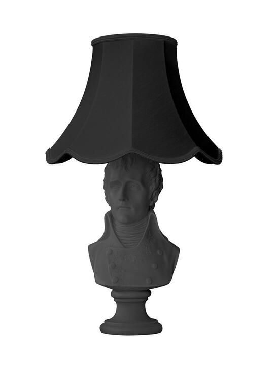 Young and Battaglia Waterloo Table Lamp Black