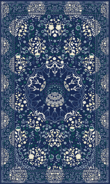 Young and Battaglia Midnight Moods Rug