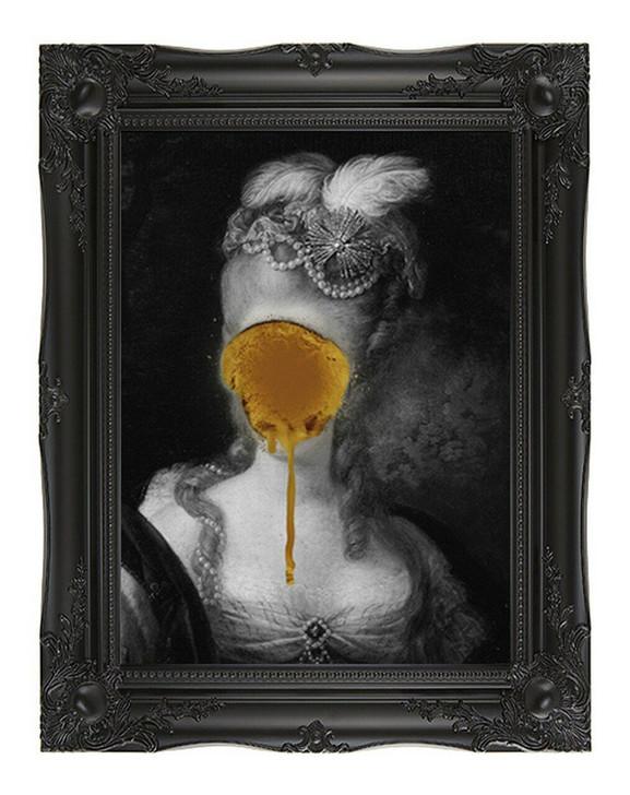 Young and Battaglia Madame Blush - Gold Edition Canvas