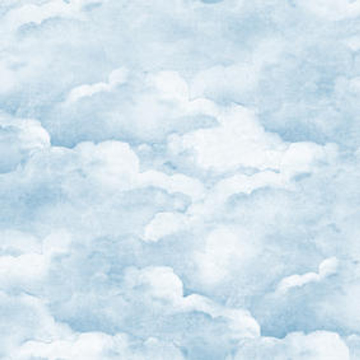 Mineheart Smokey Blue clouds wallpaper