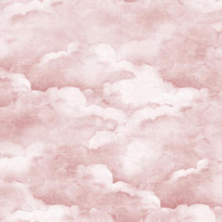 Mineheart Dusty pink clouds wallpaper