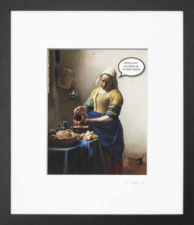 Vincenzo Sgaramella TaoMaster-4 Framed Printed Canvas