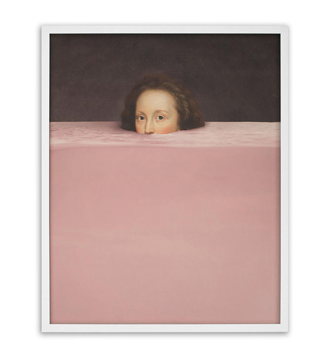 Young and Battaglia Submerged-4 Framed Printed Canvas