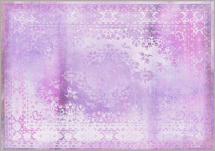 Young and Battaglia Kashan Remix Purple Rug