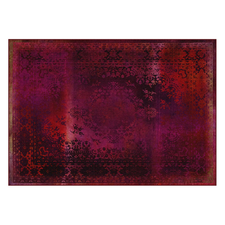 Young and Battaglia Kashan Remix Red Rug