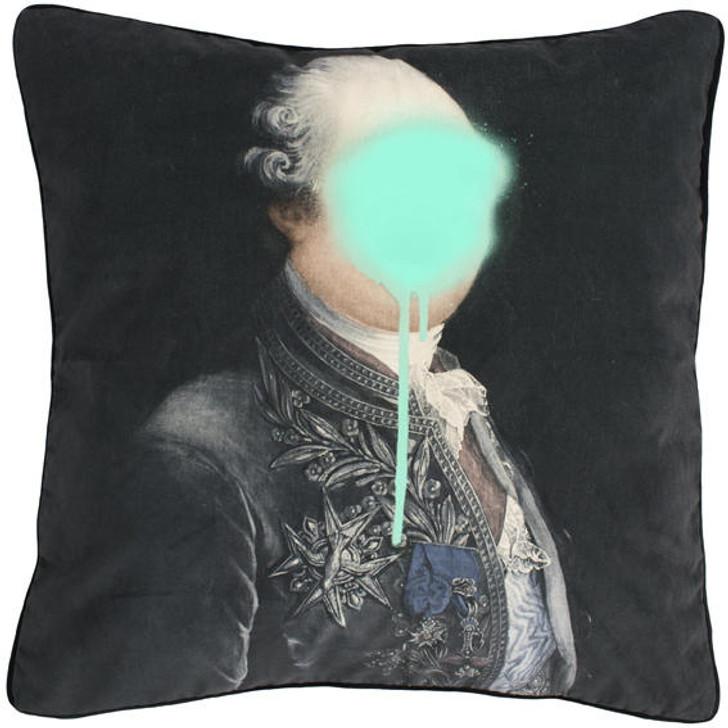 Young and Battaglia Monsieur Mint cushion