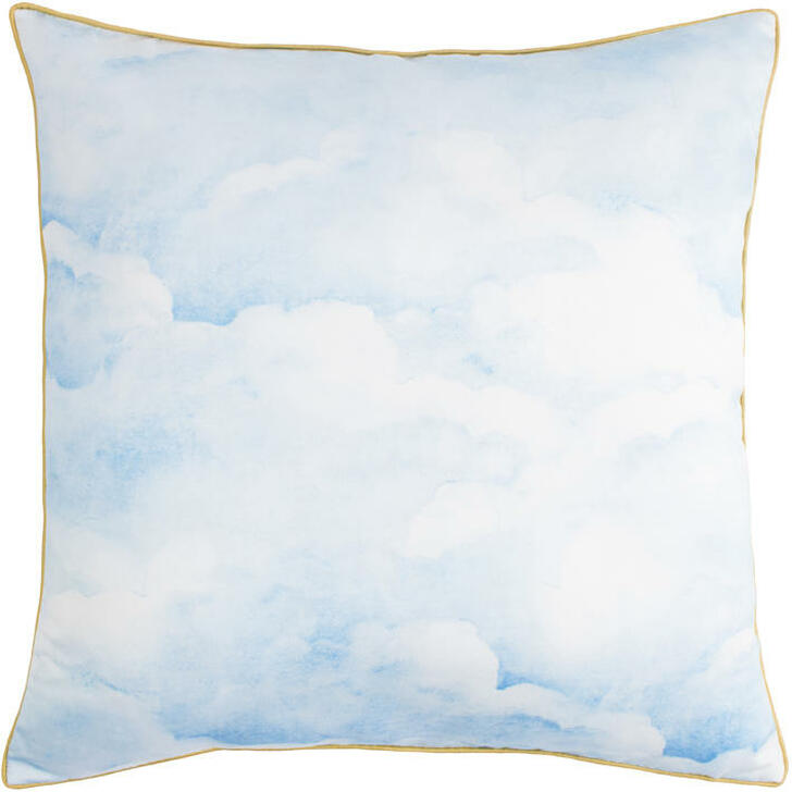 Young and Battaglia Smokey Blue clouds Cushion