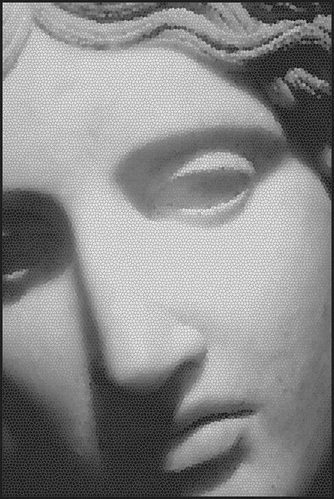 Michael Banks Mosaic Statue 1 Rug