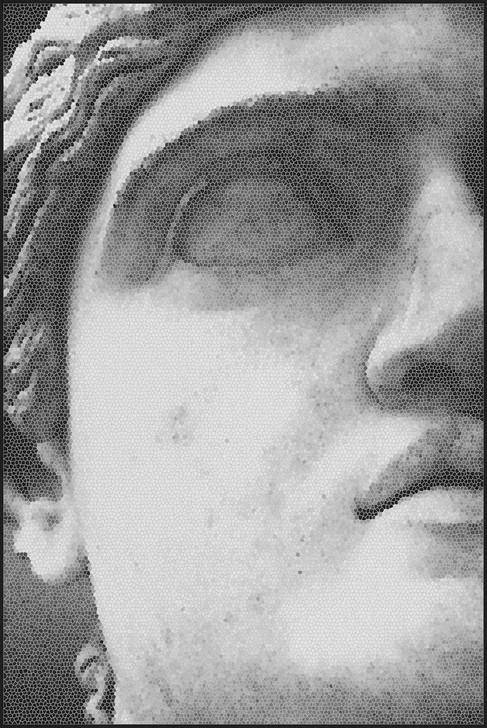 Michael Banks Mosaic Statue -2 Rug