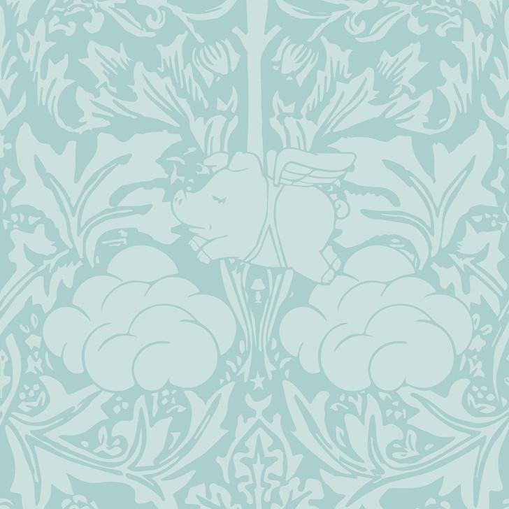Young and Battaglia Morris Dream - Minty egg blue Wallpaper
