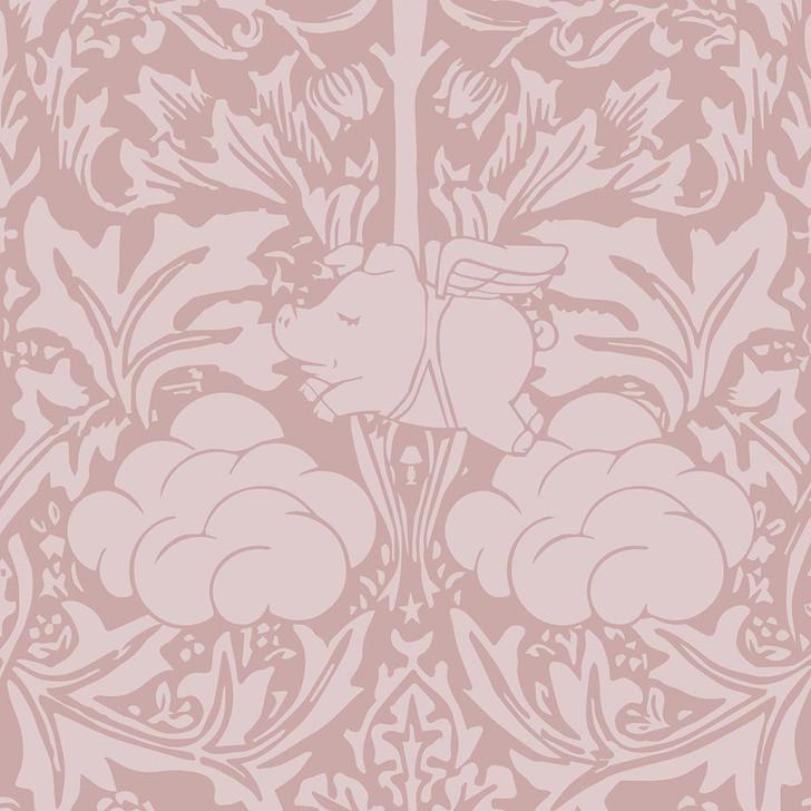 Young and Battaglia Morris Dream - Warm clay Wallpaper
