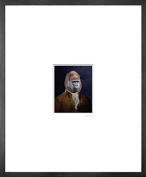 Angela Rossi Gorilla Canvas