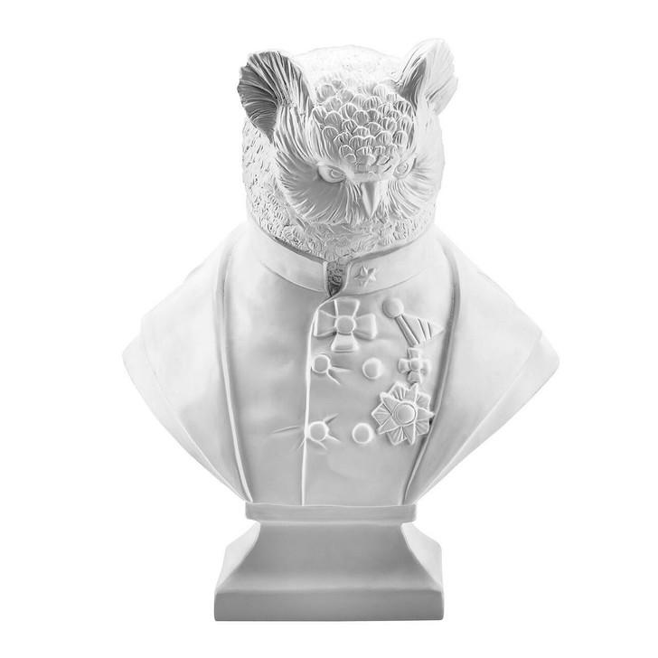Angela Rossi Grandfather Olaf Figurine - White