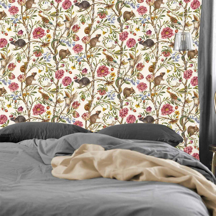Courtney Brims Back to Nature Coloured Wallpaper