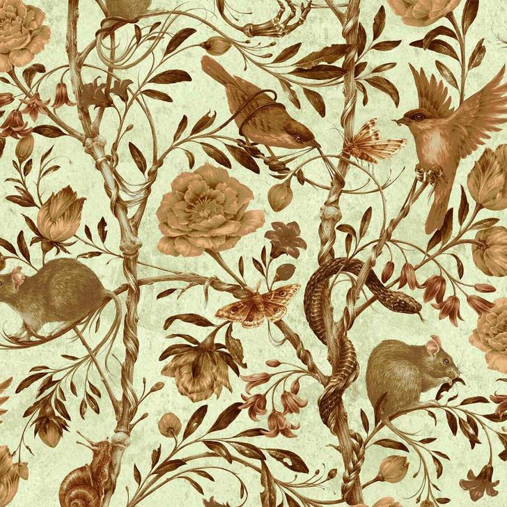 Courtney Brims Back to Nature Parchment Wallpaper